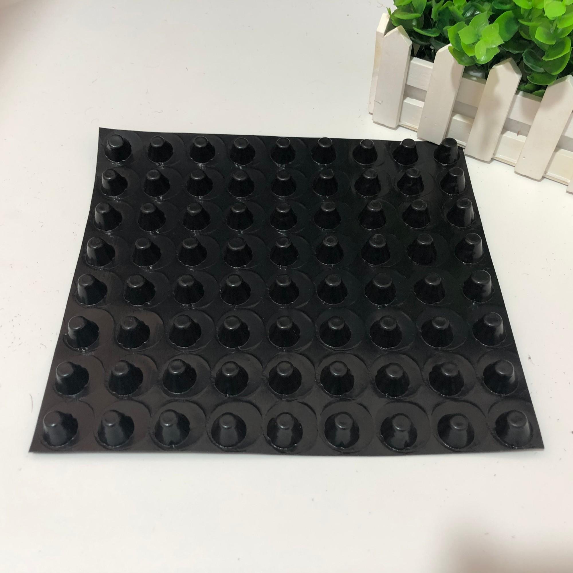 地下室底板排水板1公分应用
